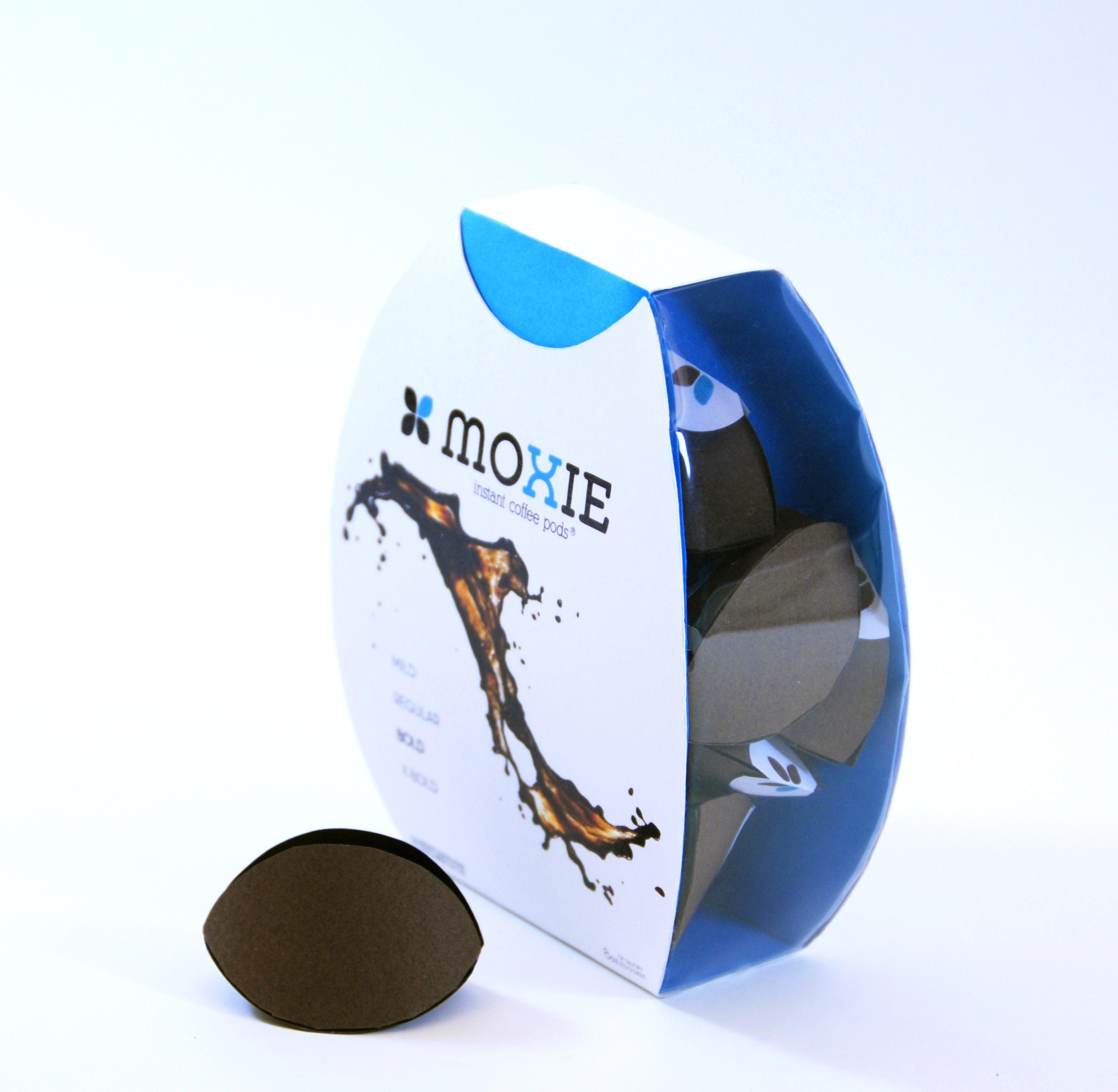 Moxie Coffee Packaging