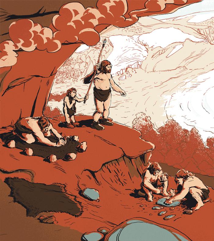 Neanderthal in Málaga