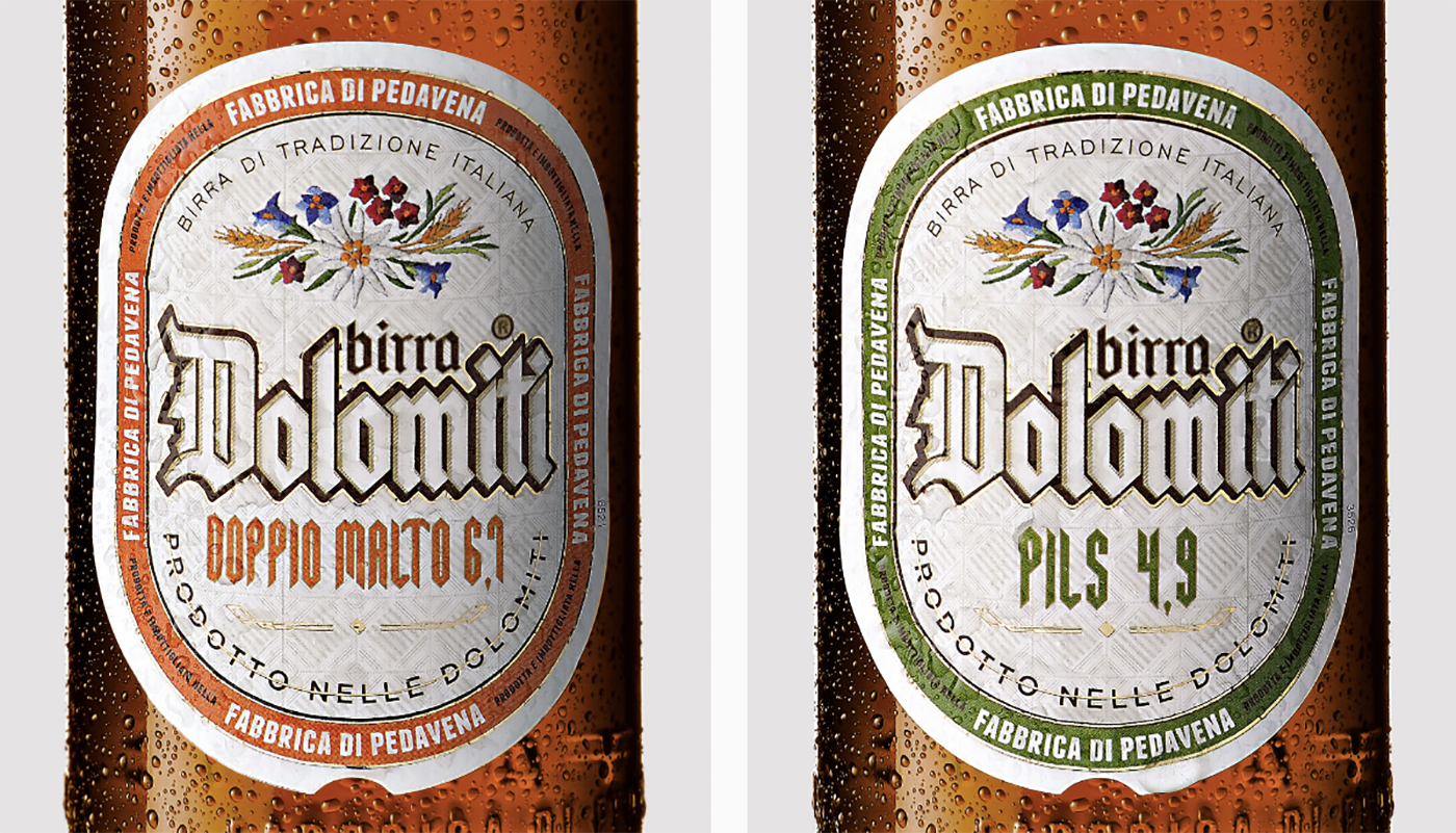 DOLOMITI / BEER PACKAGING