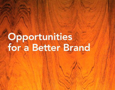 Studio Pragmatik Opportunities for a Better Brand