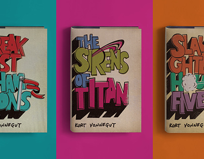 Kurt Vonnegut Book Jacket Series