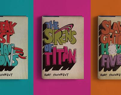 Kurt Vonnegut Book Jacket Series