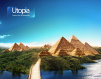 Utopia - Green city of pyramids