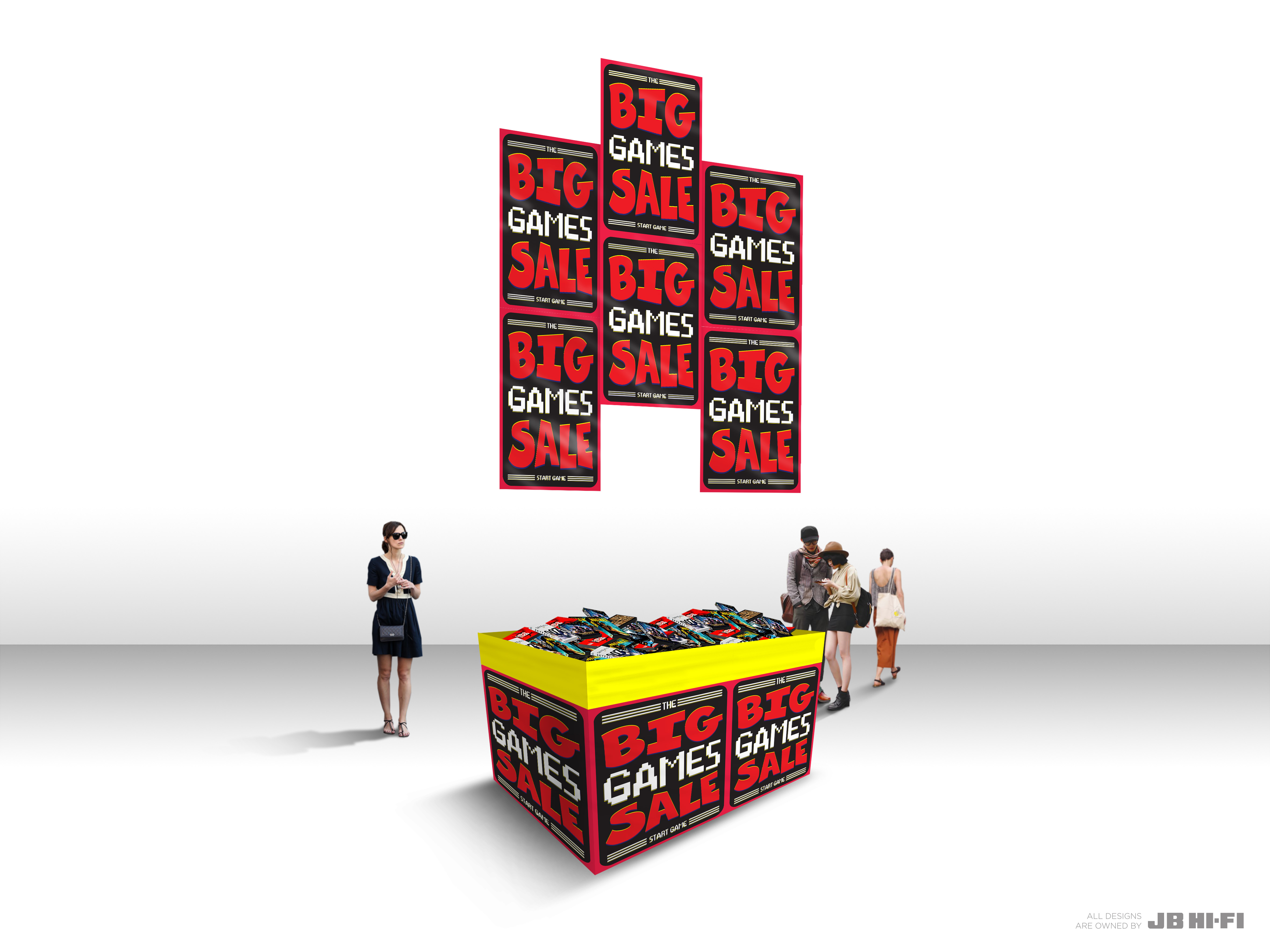 BIG GAMES SALE CAMPAIGN - JB HI-FI