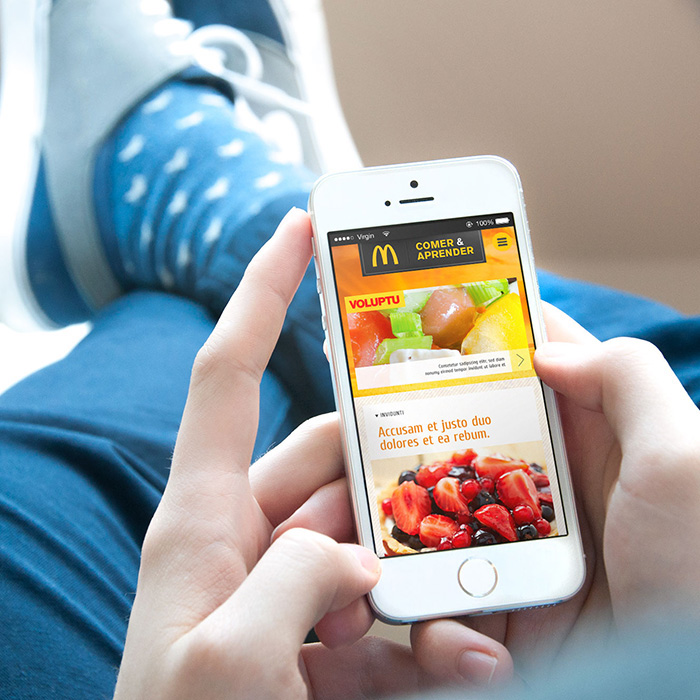 McDonalds Brazil | Nutrition Website