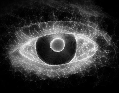 Through an eye