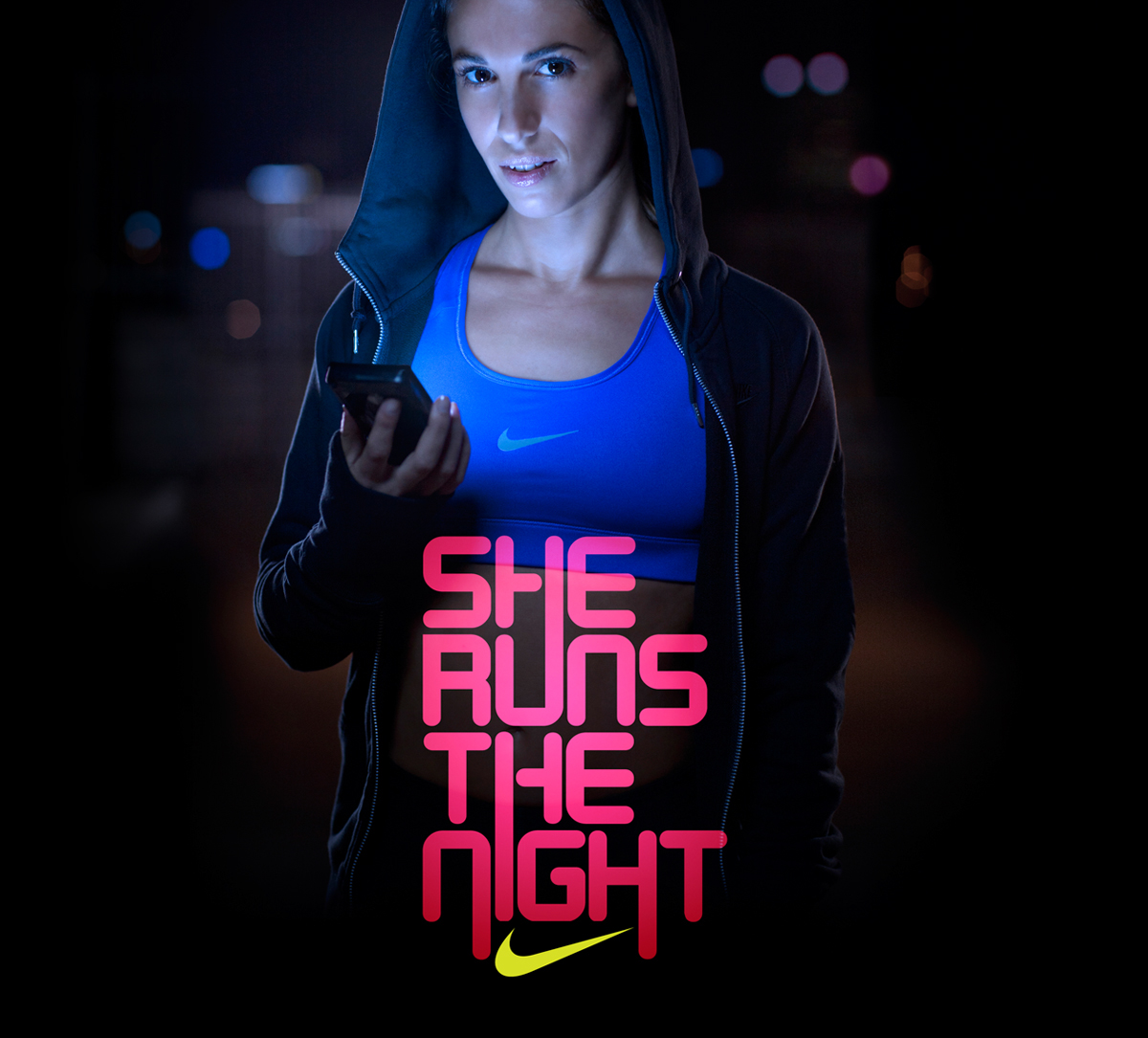 NIKE. She Runs the Night