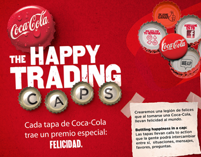 The Happy Trading Caps - Coca Cola