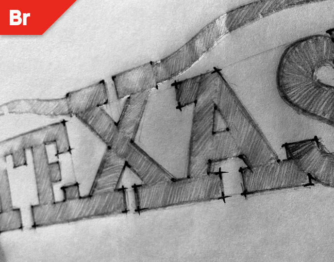 Texas logo design