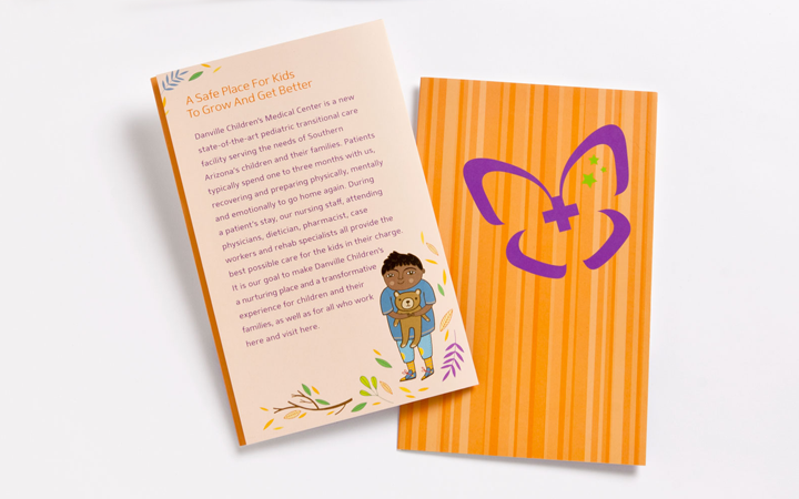 Danville Children's Medical Center Branding/Enviroment