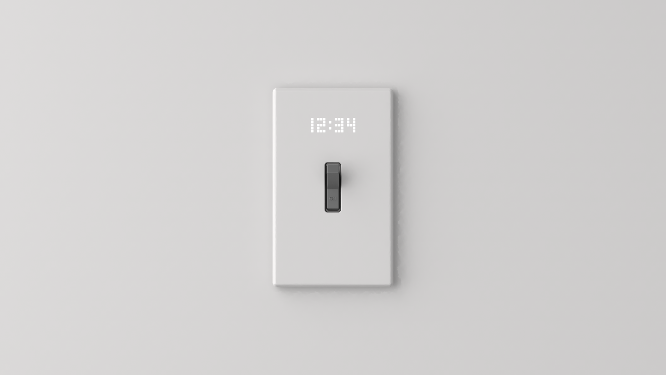 Time switch_Wall clock