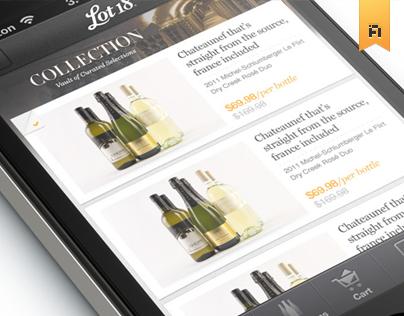 Lot18 Wine Mobile App