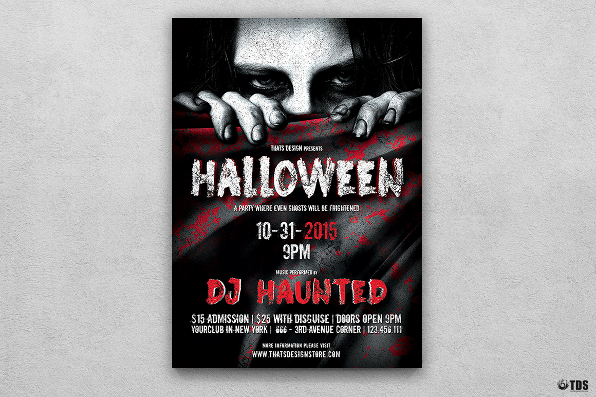 Halloween Flyer Template V5