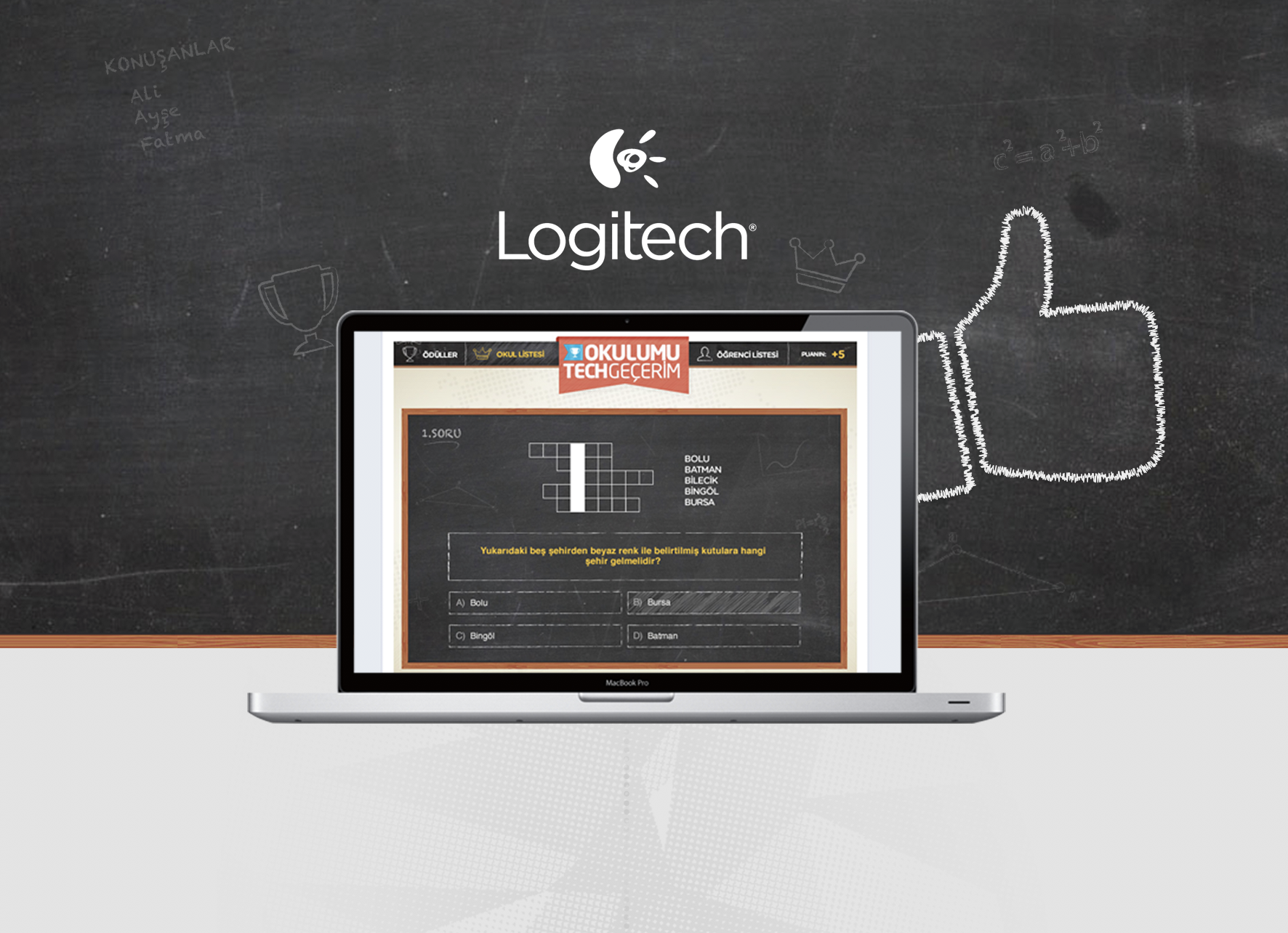 Logitech Okulumu Tech Geçerim