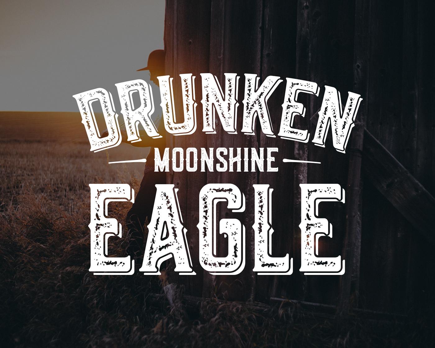 Drunken Eagle Moonshine