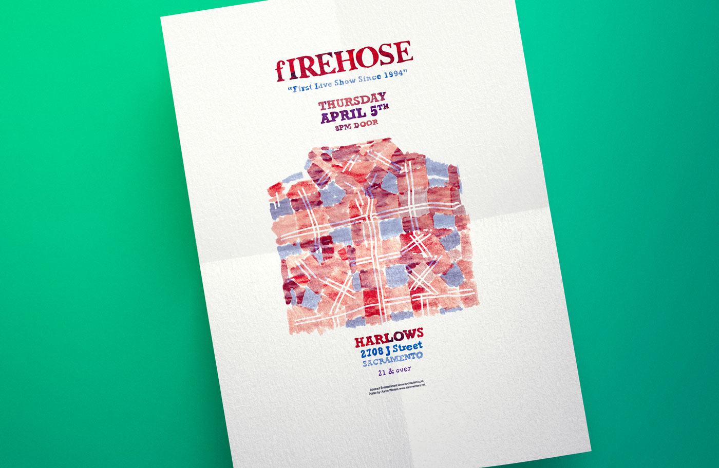 fIREHOSE Reunion Tour poster