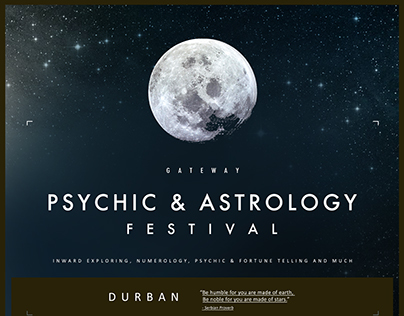 Durban International ASTROLOGY AND PSYCHICH FESTIVAL
