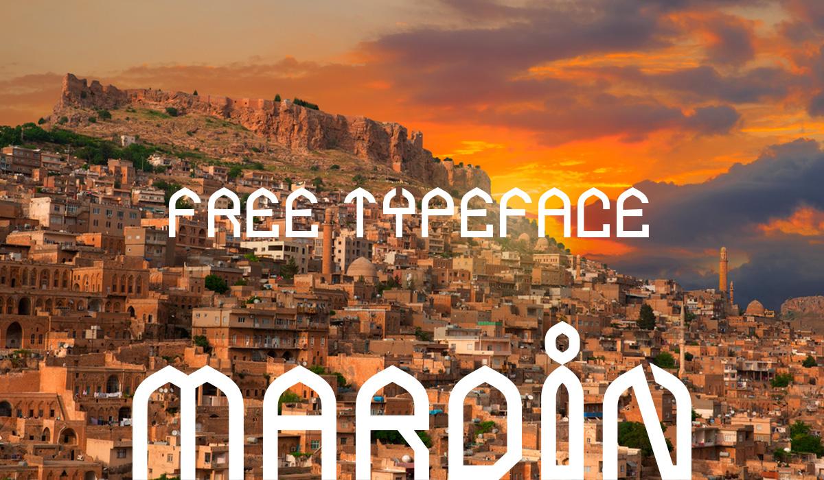 Mardin city fonts