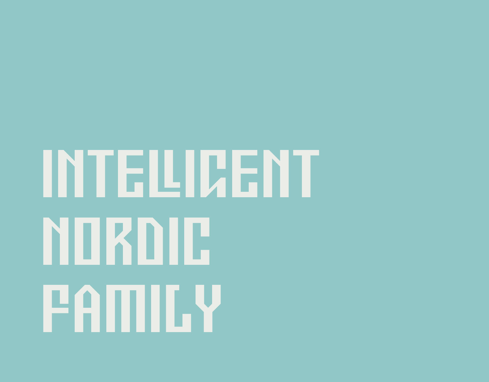 ETNO – Intelligent type family