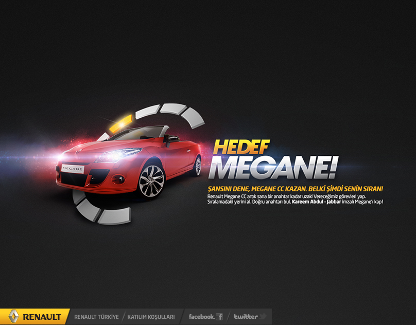 Renault - Get The Megane! / Interactive Reality Show