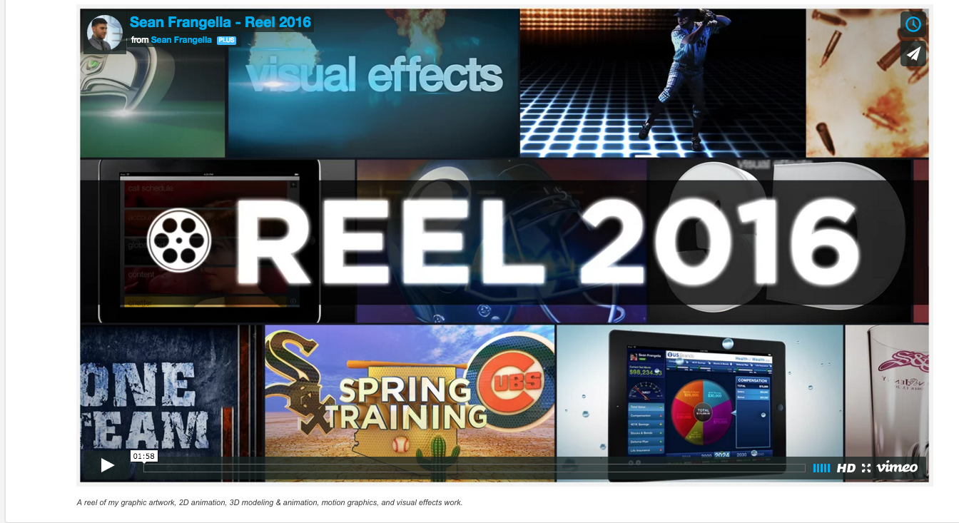 Reel 2014 - Animation, Motion Graphics, VFX
