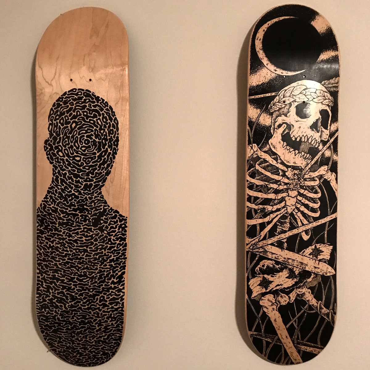 The Death of Orion Skate Deck