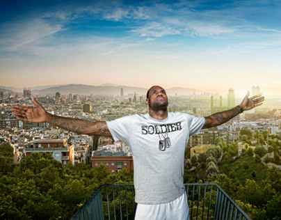 NIKE LEBRON JAMES FROM LONDON TO BARCELONA TOUR