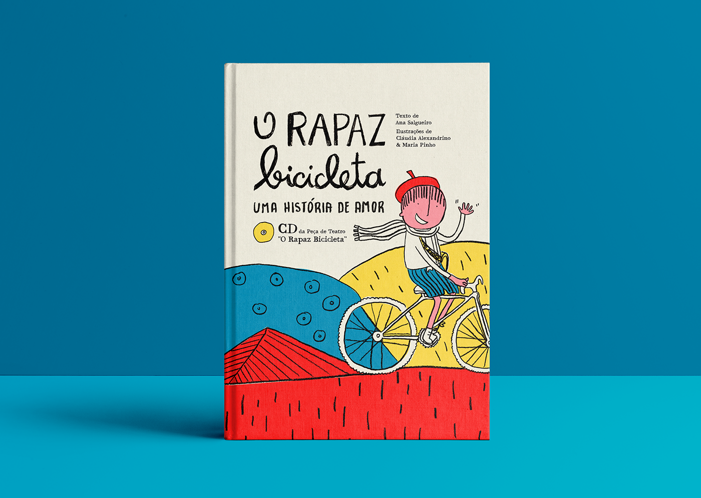 """O Rapaz Bicicleta"" - Illustrated Kids Book"