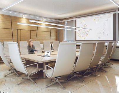 Visualization office in Novosibirsk.