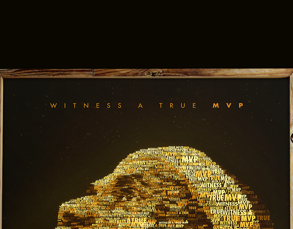 Lebron - Witness A True MVP