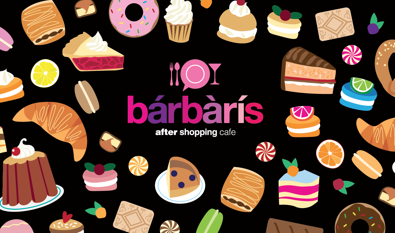 «Barbaris» after shopping cafe