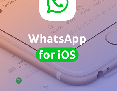 Whatsapp Concept - IOS