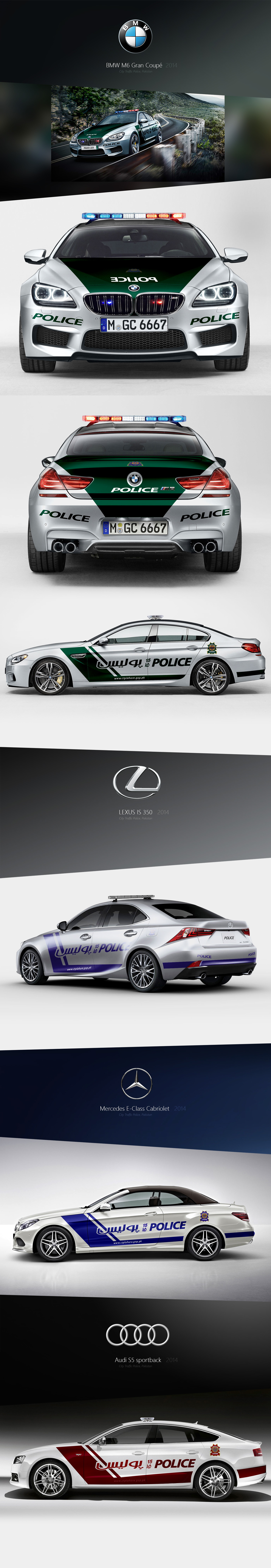 Exotic Police Automotive Design