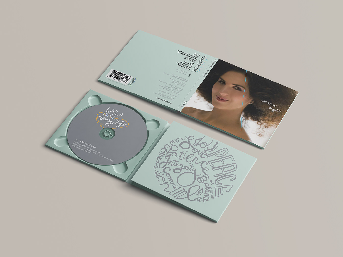 Laila Biali Music Packaging