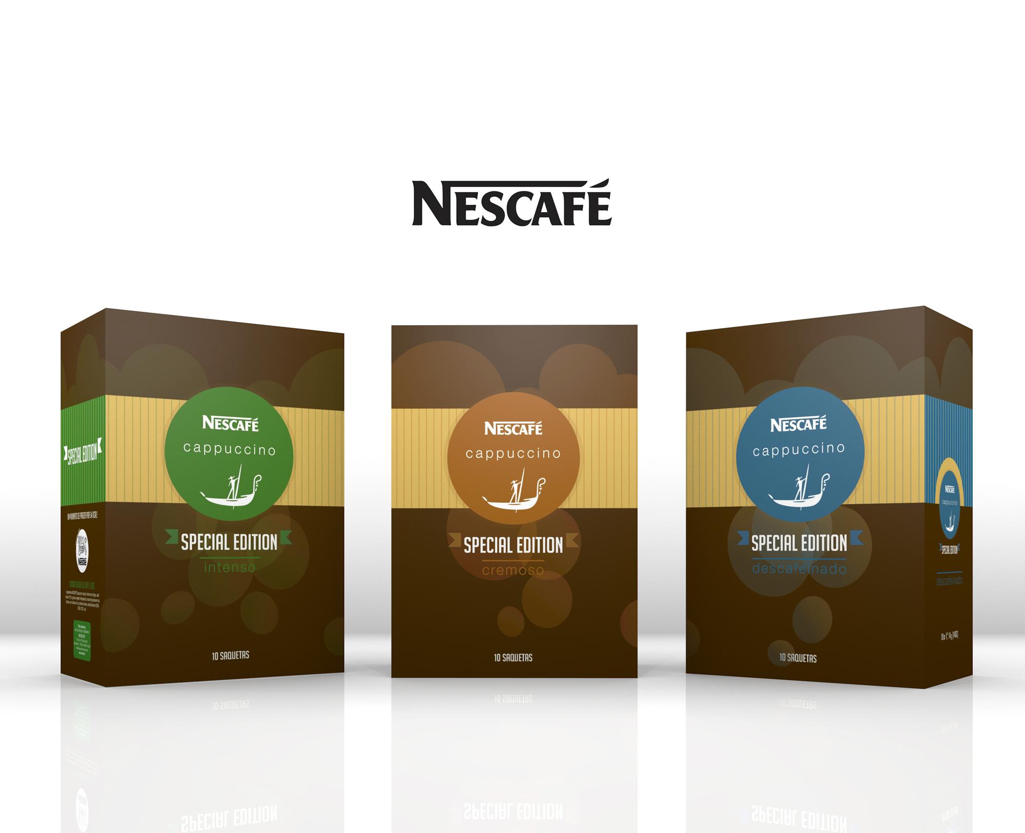 NESCAFÉ CAPPUCCINO special edition