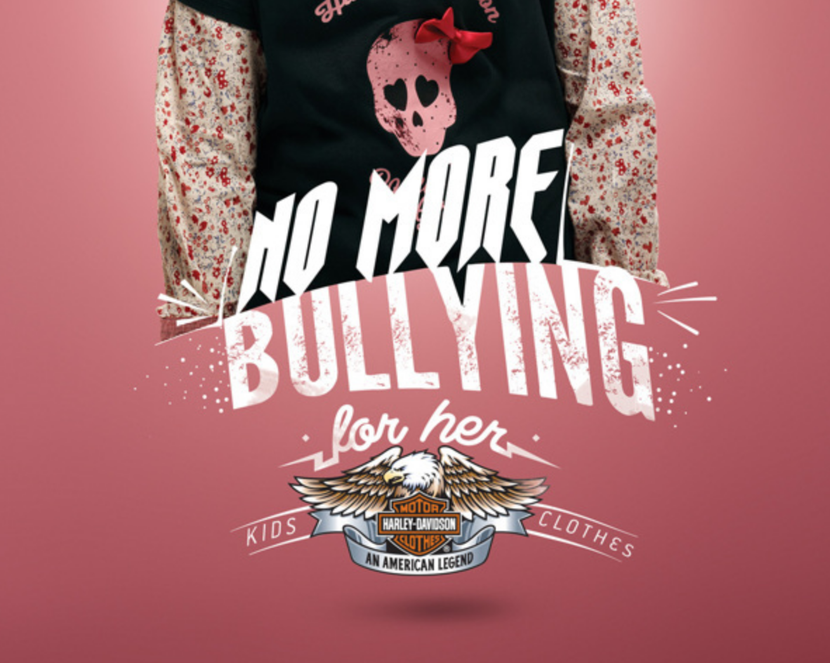 HARLEY DAVIDSON / No More Bullying