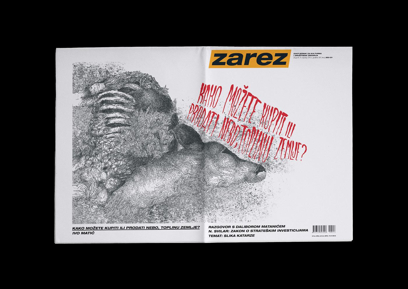 Zarez - Naslovnica / Cover