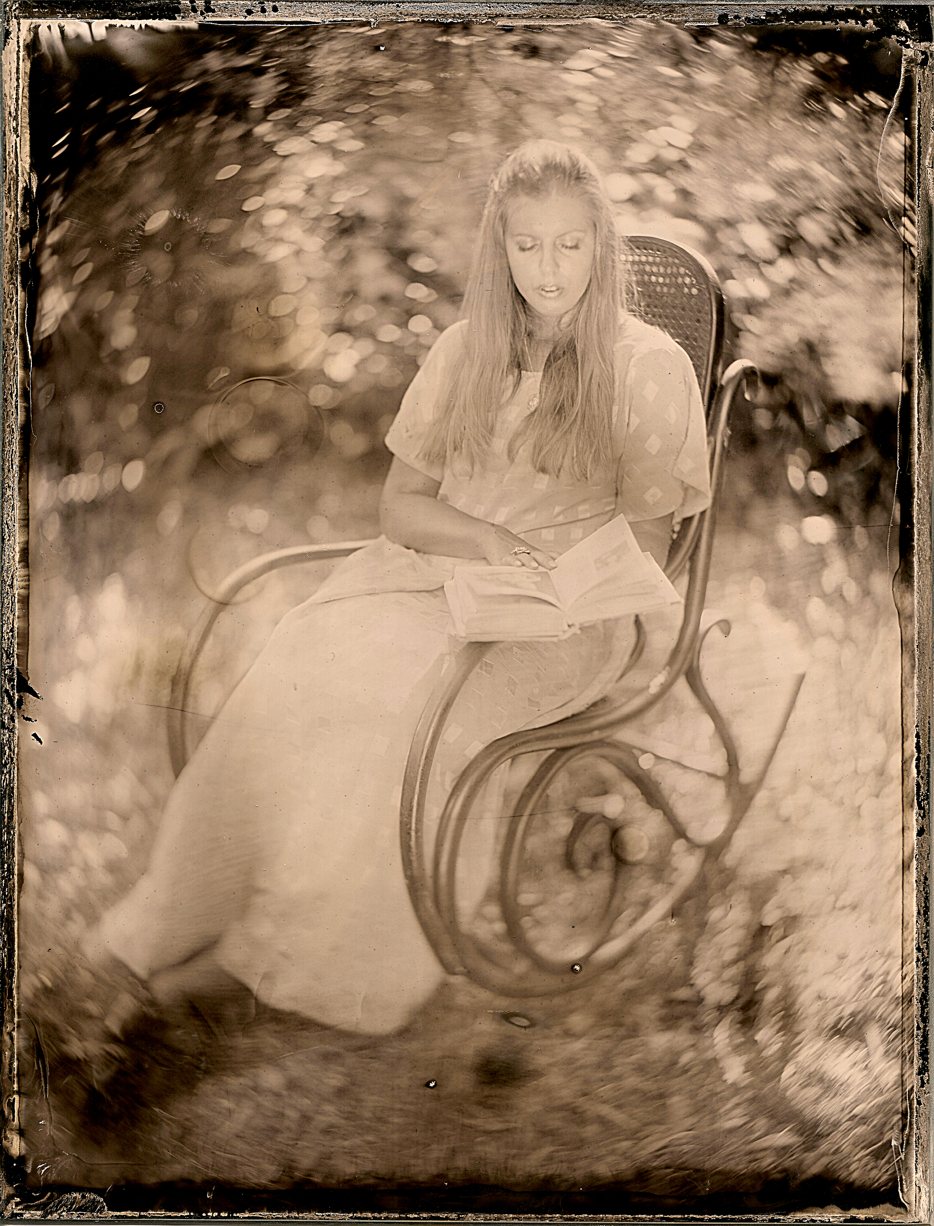 Ambrotype. Portraits.