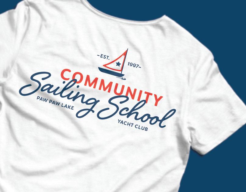 Paw Paw Lake Yacht Club Sailing School: Branding