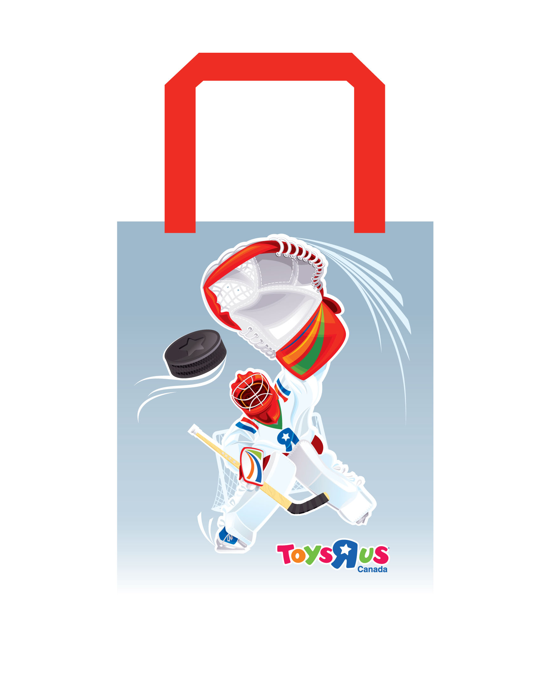 Shopping bags design for ToysRUs Canada