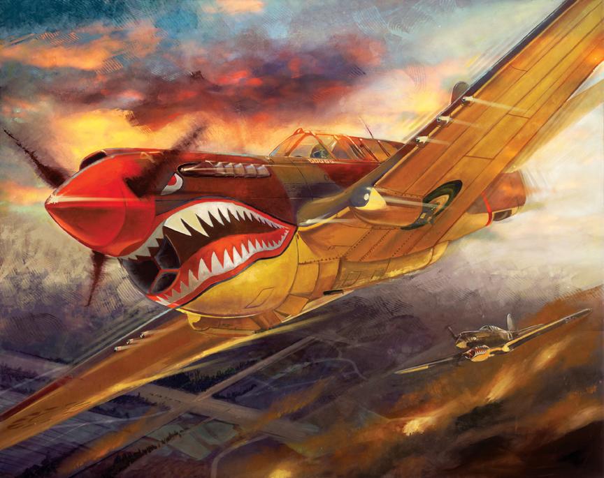 P40 Warhawk, Flying Tigers Fury of the Warhawk
