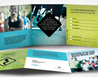 Study Volunteer brochure