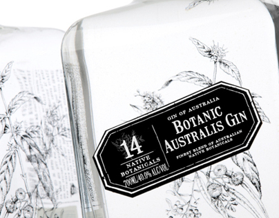Mt Uncle Botanic Australis Gin