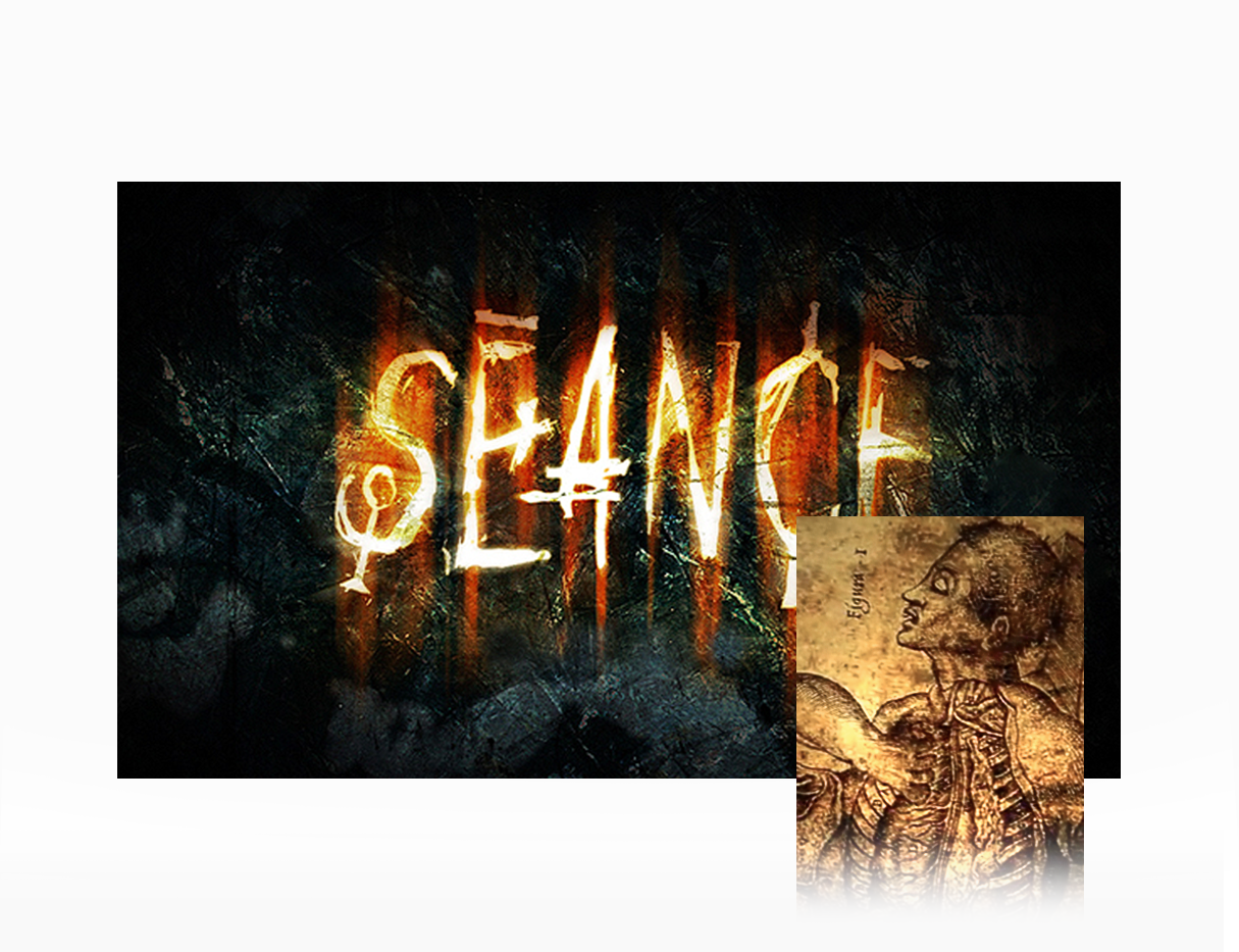 Séance ( complet graphic style for horror movie)