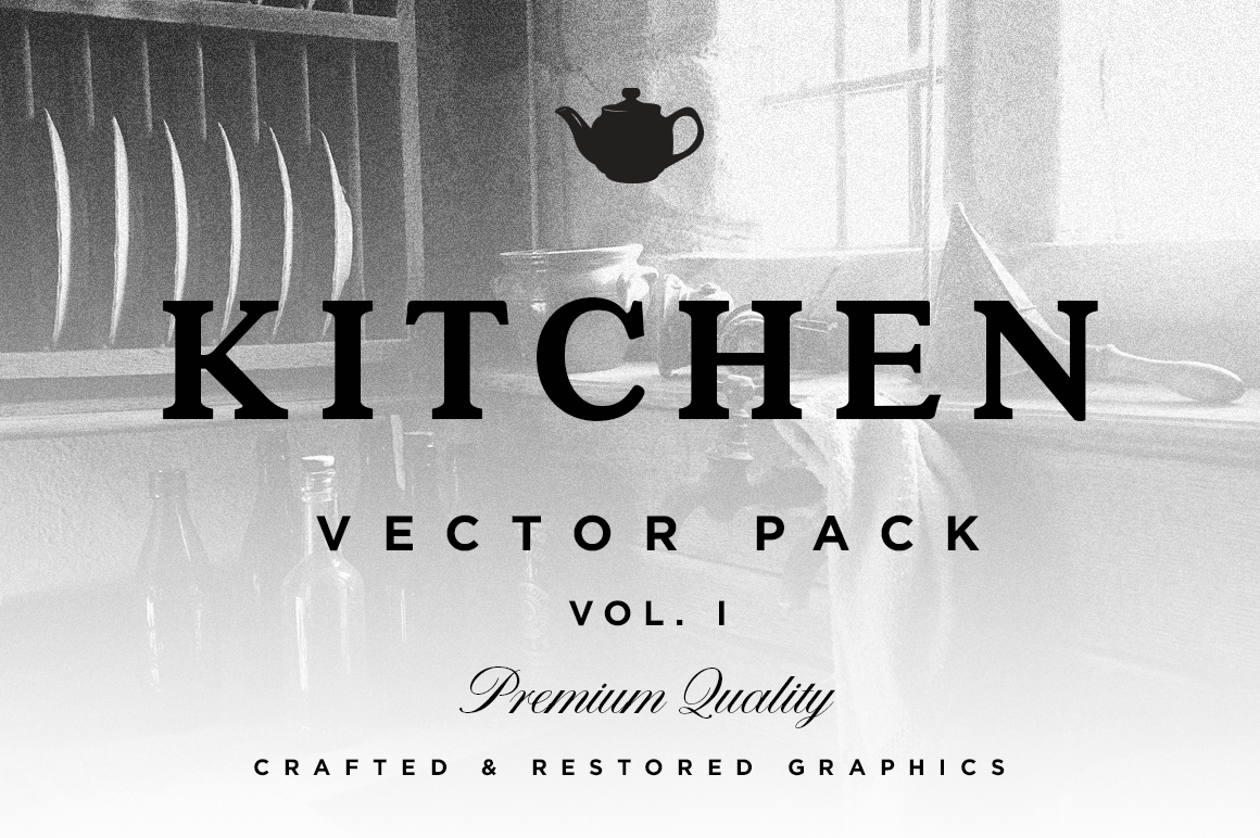 Kitchen Cooking Vector Set, Free Download