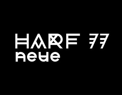 Harf 77 Neue