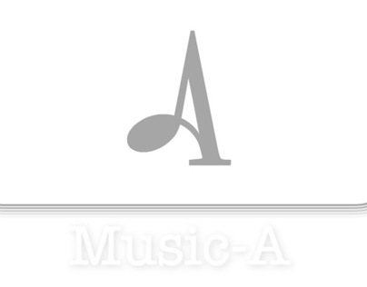 Music-A : Logo & Flash website