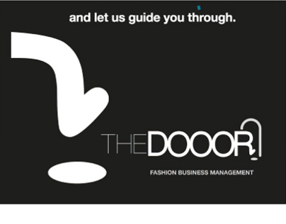 The Dooor Fashion Business Management - Logo Design