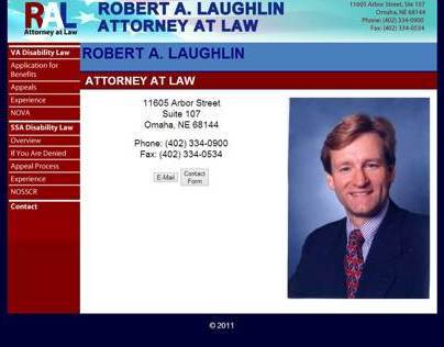 Robert Laughlin Law Website