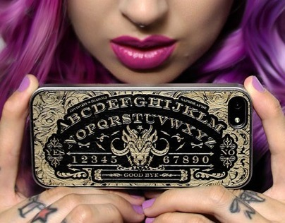 073 - Ouija Iphone Case & Goat